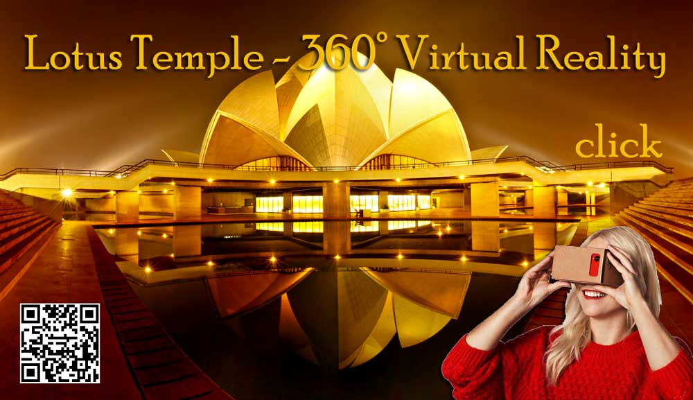 Lotus Temple 360 Degree Virtual Tour Amp Panoramic View